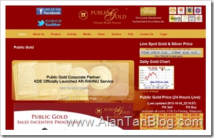 Public Gold Marketing